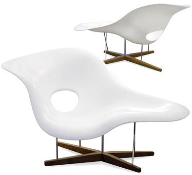La chaise by charles and ray eames 1948 - Charles et ray eames chaise ...