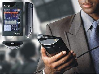 NYSE-Wireless-Handheld-Computer