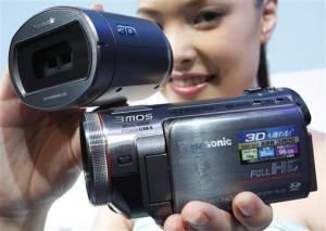 World's first consumer 3D camcorder on the way from Panasonic
