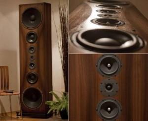 1.9m-tall monster speakers for audiophiles