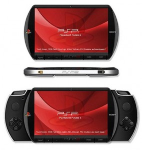 Sony's Planned PSP To Have Touch-Sensitive Controls At Its Backside
