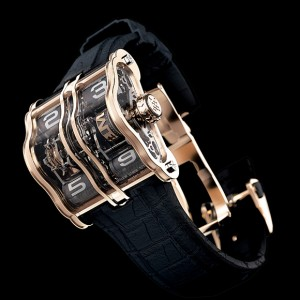 Arnaud Tellier's 2LMX watch
