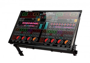 Emulator DJ Transparent Touchscreen Mixing Desk