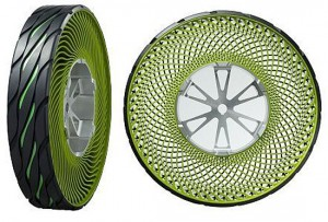 Never worry about a flat again with these crazy airless tires