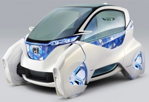 Honda concept lets you control your car via smart phone