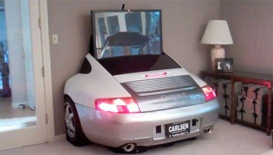 hidden in the ass end of a Porsche won\'t impress the ladies