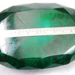 """57,000 Carat Emerald, Called """"World's Largest,"""" Up for Auction"""