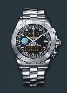 "Breitling Launches Online Auction for ""Flown"" Limited Edition #1 Airwolf"