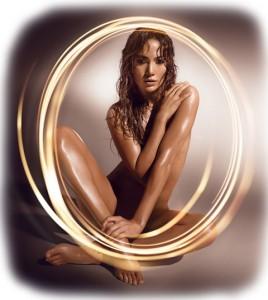 Jennifer Lopez Glowing