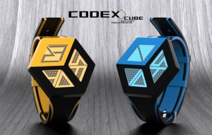 Codex Cube LCD Concept Watch