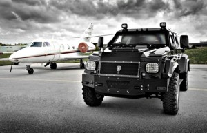 Friendly Canadians make a mean armored SUV the size of a plane