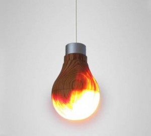Light bulb mixes ancient Japanese art with modern green tech
