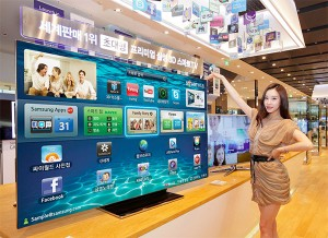 Samsung announces 75-inch ES9000 smart TV for Korea, with similarly gigantic price tag
