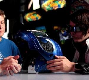 All-weather motorcycle helmet heats and cools your face, protects grey matter