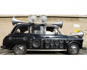 Sound Taxi composes music from London city buzz, doesn't even take a fare