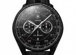 In Geneva TAG Heuer presented the lightweight Carrera Carbon Calibre 1887 Concept Chronograph and its little brother