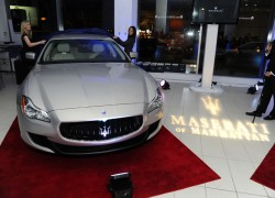 2014 Maserati Quattroporte Wows at VIP New York Event