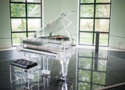 A Clear Choice: CRYSTAL Pianos Are Anything But Classic