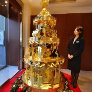 This $4.2 Million Gold Tree is All Blinged Up for Christmas