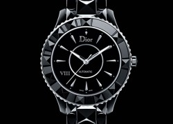 Dior VIII introduces blinged up watch collection