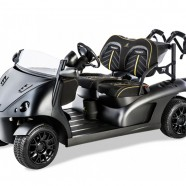 Garia Golf Cart Sports A Race Track Makeover