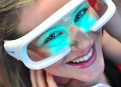 LED glasses promise to kill jet jag and winter blues forever