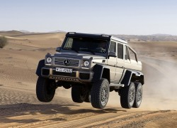 Mercedes Goes to Extremes with Six-Wheeled G63 AMG