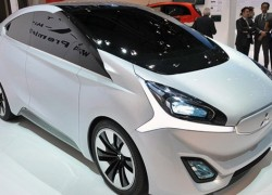 Mitsubishi Concept CA-MiEV triples the i-MIEV's range, adds wireless charging