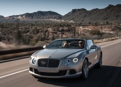 New Bentley Continental GT Speed Convertible Conquers the Grand Canyon