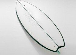 Ride the Waves on LACOSTE LAB's Eco-Friendly Surfboard