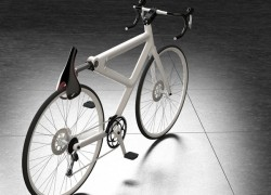 Concept: Saddle Lock Bike Needs No More Securing