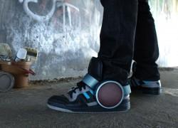 Sneaker Speaker by Ray Kingston