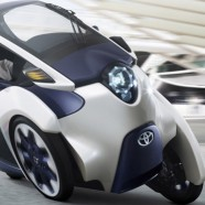 Toyota's i-Road Electric Concept Car Wows at Geneva Motor Show