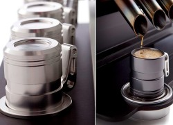 V12 Inspired Espresso Veloce For Gearhead Coffee Lovers