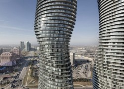 Canada's finished 'Twisted' skyscrapers