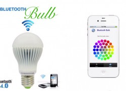 Bluetooth Bulb lets you switch on, time, dim and color your lighting from your phone (video)