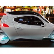 Gyroscopic two-wheeler is an electric car that acts like a Segway