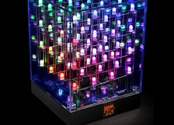 Multi-Color Animated LED Art Cube
