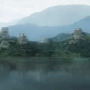Naturalistic apartment complex mimics mountainous shapes