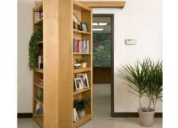 Hidden passage bookcase turns your home into a secret lair