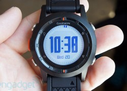 Garmin unveils Fenix, its first GPS watch for deep-pocketed outdoorsy types