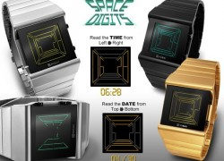 Tokyoflash goes all '80s with its Space Digits watch (video)