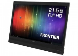Kouziro crafts wired-only, 21.5-inch Android 4.0 mega tablet, makes us think it's compensating for something