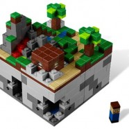 Lego Minecraft arrives, sudden drop in productivity expected when the UPS man gets here