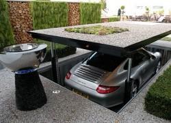 Cardok Elevator Gives You James Bonds Style Garage