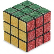 Fancy A $1,950 Shagreen Leather Rubik's Cube?
