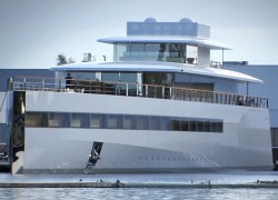 Steve Jobs-designed super yacht finally unveiled in Europe