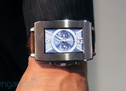 Toshiba's concept smartwatch reads your pulse, pulls maps from your phone