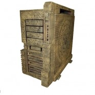 AzTtec PC case mod takes the Thermaltake Level 10 GT back in time